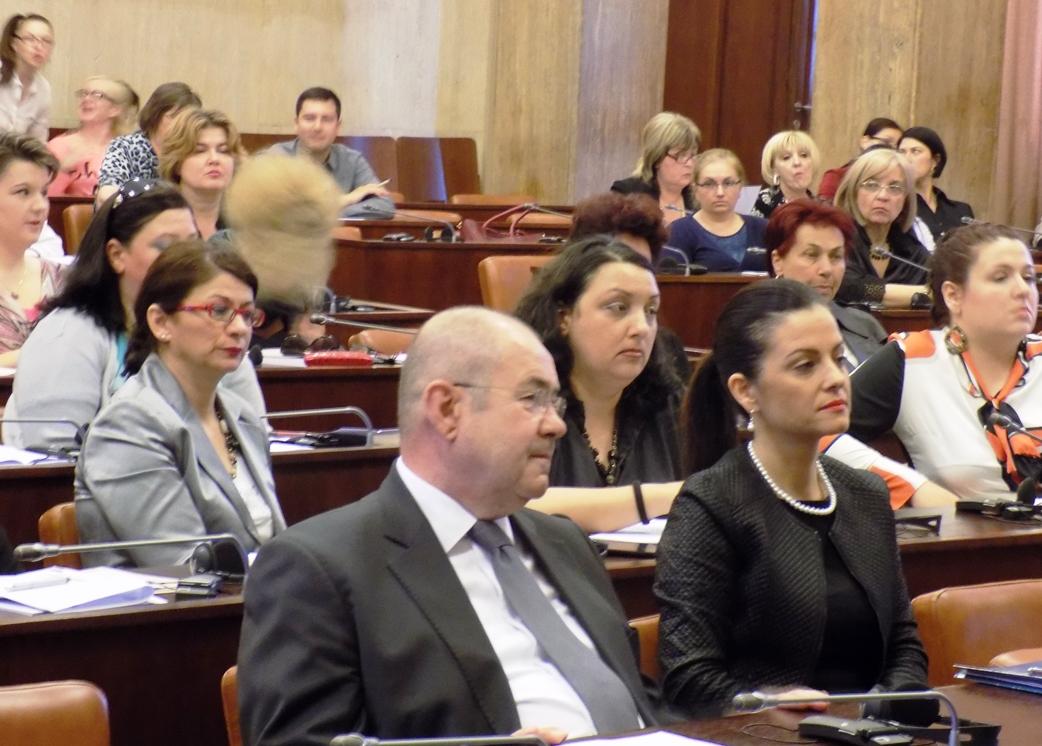 Marija Obradović na konferenciji
